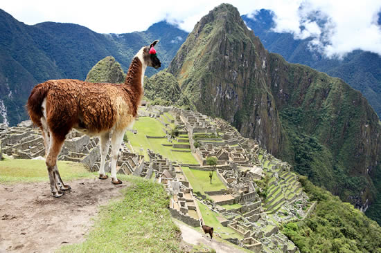 Lost city of Machupicchu